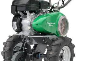 Обзор мотоблока Caiman Vario 70S TWK+. Характеристики, отзывы