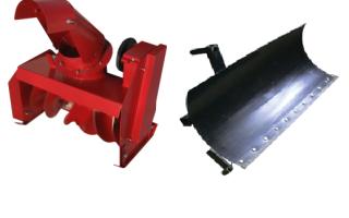 Обзор снегоуборочного навесного  оборудования для мотоблоков ОКА