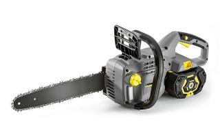Аккумуляторная электропила Керхер CS-330 BP. Технические характеристики и правила эксплуатации