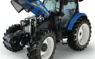 Ультрасовременные тракторы NEW HOLLAND. Обзор модельного ряда, видео, эксплуатация, отзывы