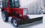 Снегоуборщик для трактора Т-25. Технические характеристики и правила эксплуатации