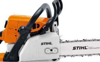 Бензопила Stihl MS-250. Технические характеристики и особенности использования