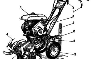 Устройство, ремонт и обслуживание мотокультиваторов Крот