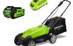 Обзор газонокосилок бренда GreenWorks. Технические характеристики и правила использования