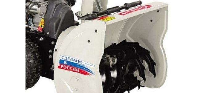 Бензиновый снегоуборщик Интерскол СМБ-650. Конструкция, видео работы и отзывы