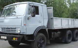 КамАЗ-5320. Описание грузовика, технические и эксплуатационные характеристики