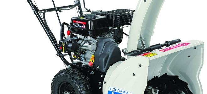 Бензиновый снегоуборщик Интерскол СМБ-650Э. Описание модели, видео работы и отзывы