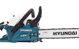 Бензопила Hyundai. Обзор, инструкция, отзывы
