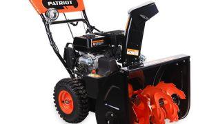 Обзор бензинового снегоуборщика Patriot PRO 655 E. Описание модели, преимущества,видео работы, отзывы