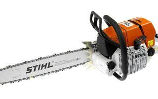 Бензопила Stihl ms-660. Технические характеристики и особенности использования