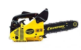 Бензопила Champion 125t 10. Технические особенности и правила эксплуатации