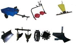 Обзор  навесного оборудования для мотоблоков Каскад