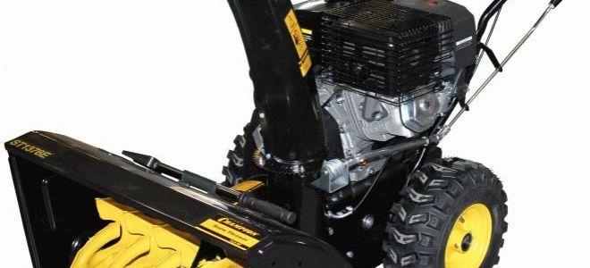 Снегоуборщик Champion ST1376E. Обзор, характеристики, отзывы владельцев