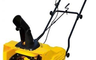Снегоуборщик электрический Champion STE1650. Обзор, характеристики, отзывы