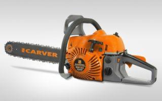 Цепная бензопила Carver RSG 262. Технические характеристики и правила эксплуатации