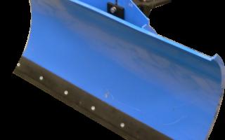 Отвал для мотоблоков Нева. Обзор навесного оборудования Нева для уборки снега