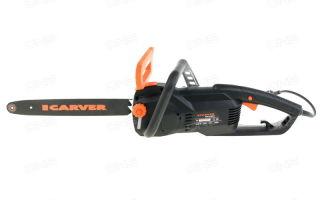 Электропилы Carver: обзор модельного ряда