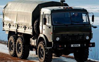 КамАЗ-43114. Техническое описание и характеристики машины