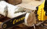 Электропилы Champion. Обзор модельного ряда