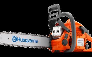Бензопилы Husqvarna 435. Обзор. Технические характеристики. Особенности использования и техника безопасности