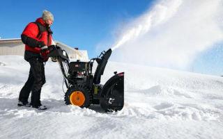 Снегоуборщик из мотоблока. Уборка снега с помощью мотоблока