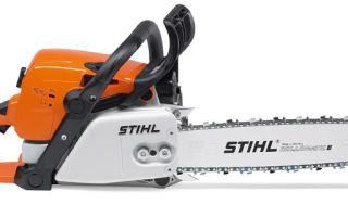 Бензопила Stihl MS-310. Технические характеристики и особенности эксплуатации