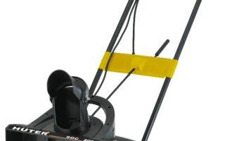 Обзор снегоуборщика Huter SGC 2000E. Описание, инструкции, отзывы владельцев
