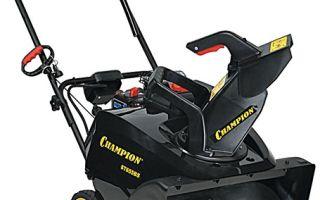 Снегоуборщик Champion ST655BS. Обзор, характеристики, отзывы