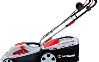 Электрическая газонокосилка Sterwins 400. Технические характеристики и правила эксплуатации