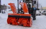Снегоуборщики для МТЗ. Технические характеристики и правила эксплуатации