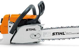 Бензопила Stihl 260 ms. Технические характеристики и правила эксплуатации