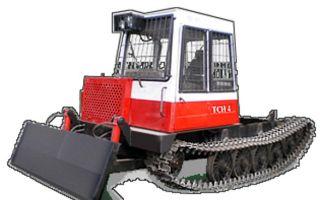 Универсальный гусеничный трактор ТСН-4. Характеристики, эксплуаация, фото, видео работы, отзывы
