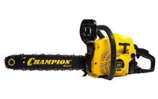 Бензопила Champion 237-16. Технические характеристики и правила эксплуатации