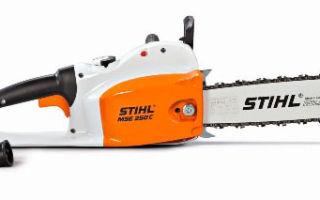 Электропила Stihl mse 141. Технические характеристики и особенности эксплуатации