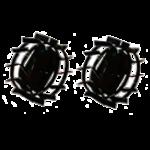 Колеса металлические КМС для пахоты
