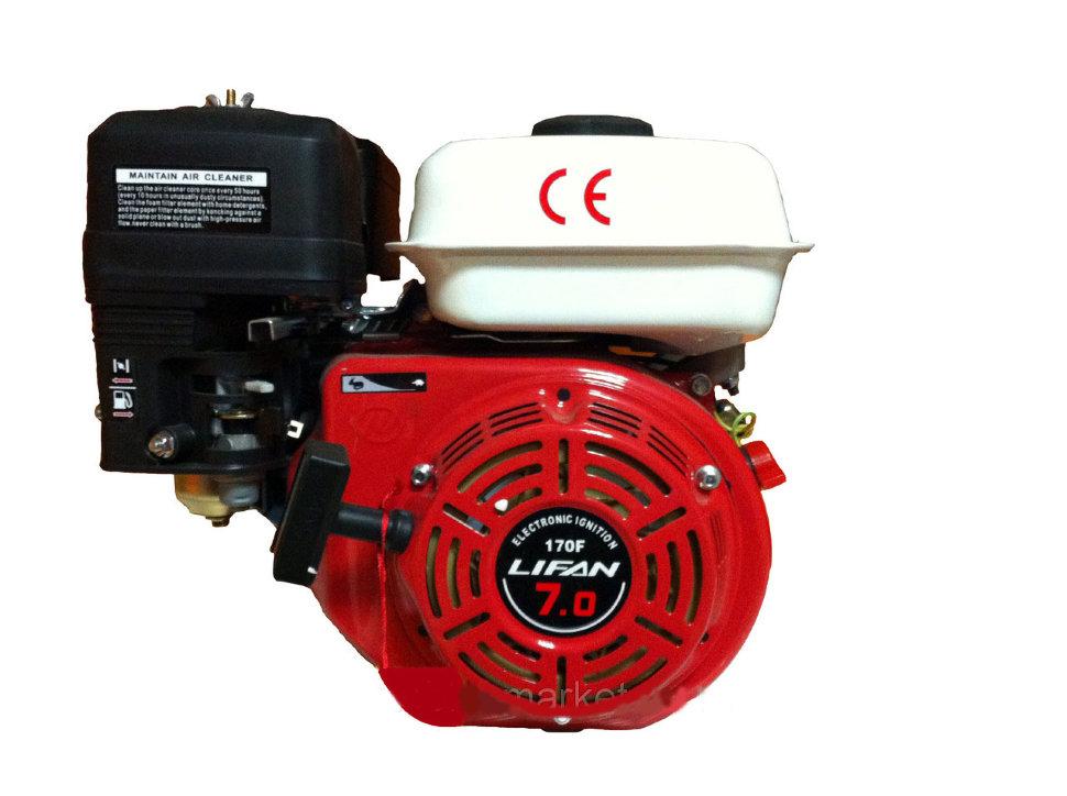 Двигатель Lifan 168 F-2 для мотокультиватора Крот