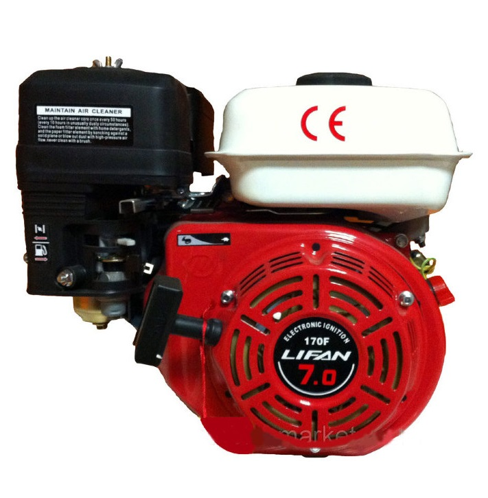 Двигатель Lifan 168 F-2 для мотокультиватора МТЗт