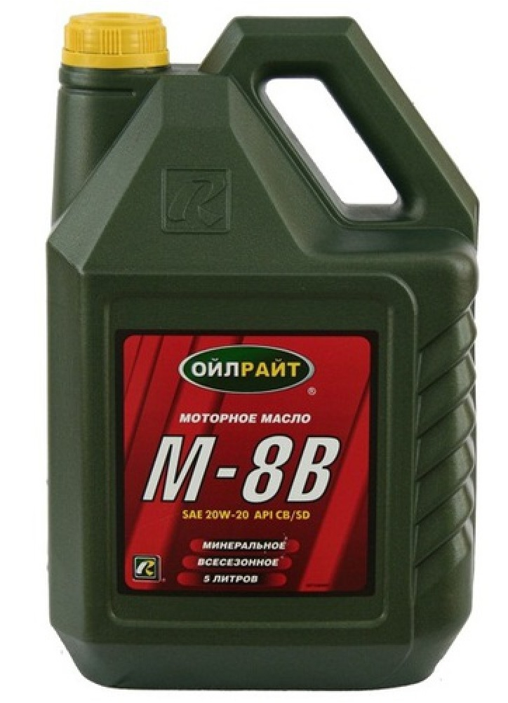 Масло М8-В для мотокультиватора Крот
