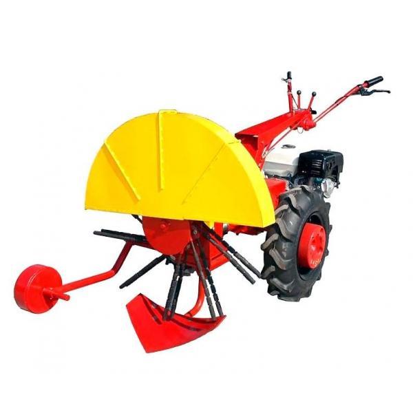 Роторная картофелекопалка КМ-2 для мотоблока МТЗ-09Н