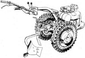 Схема мотоблока МТЗ-06