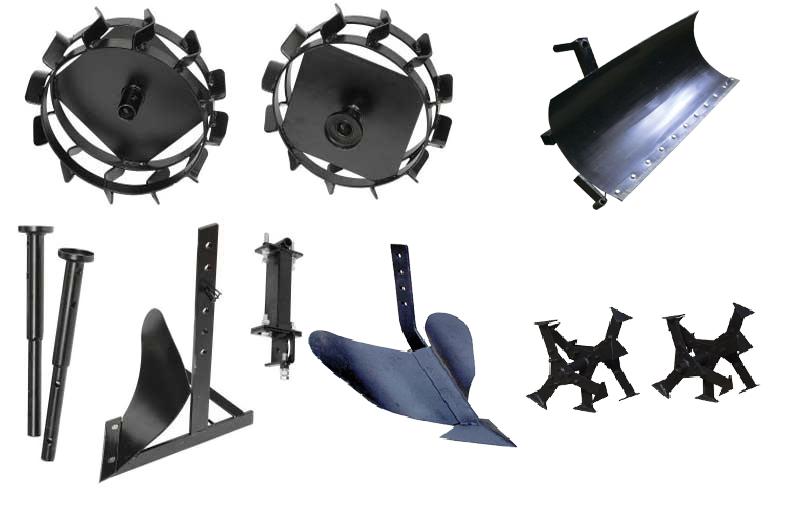 Обзор  навесного оборудования для мотоблоков Угра