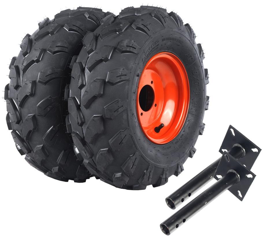 Пневматические колеса диаметром 41 см для мотоблока Салют