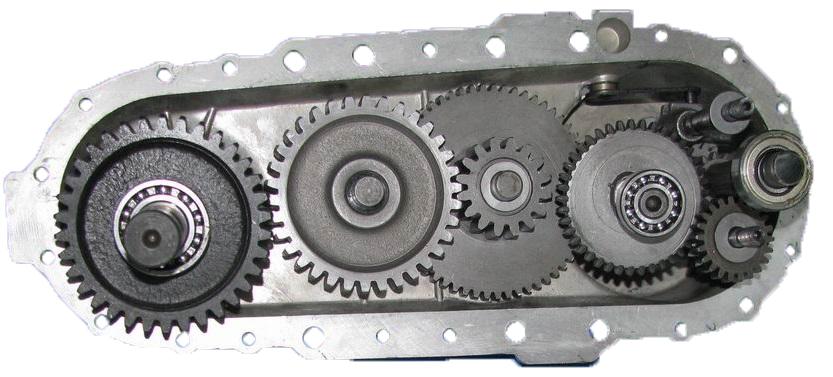 Шестеренчатый редуктор мотоблока Салют 5 Р 5,0