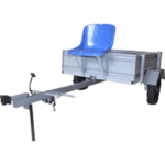 Телега грузовая для мотоблока Ока МБ-1Д1М10