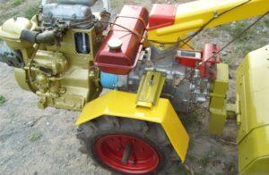 Мотоблок «Кадви» МБ-90 после легкой модернизации