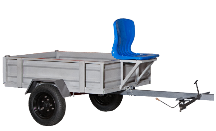Прицеп мотоблочный грузовой ПМГ300-1