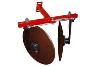 Дисковый окучник для мотоблоков Рысь