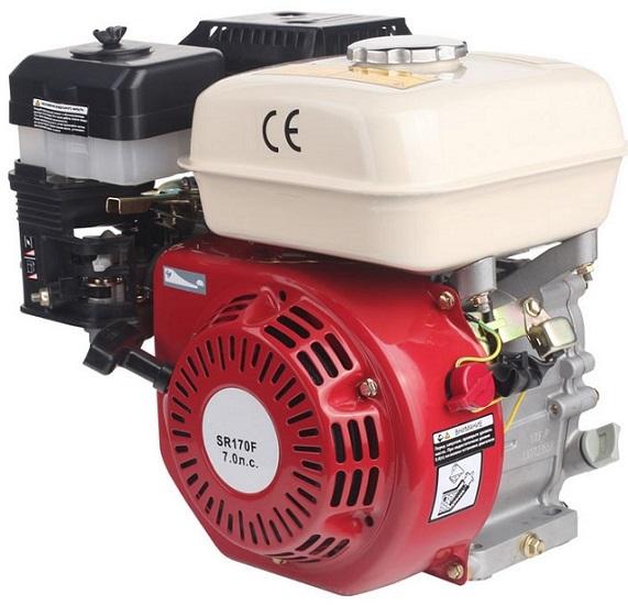 Двигатель SR170F для мотоблока Пахарь
