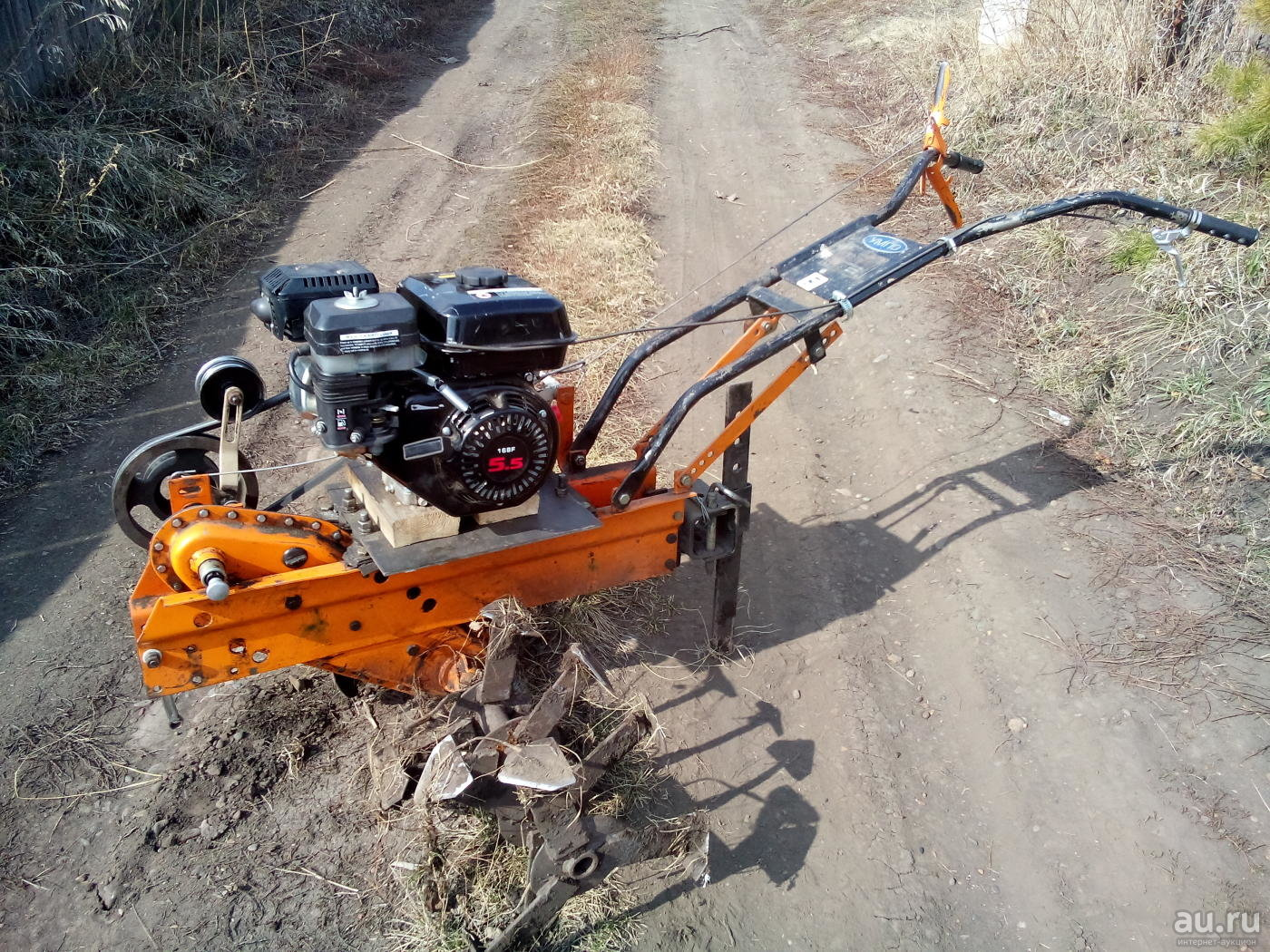Мотоблок Урал с двигателем Lifan 168F