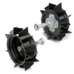 Комплект металлических колес
